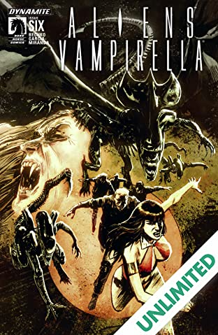 Aliens/Vampirella #6: Digital Exclusive Edition